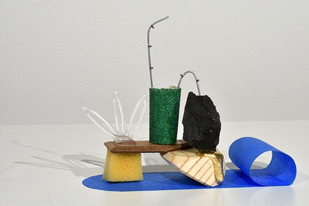 Found object sculpture by David Kruk