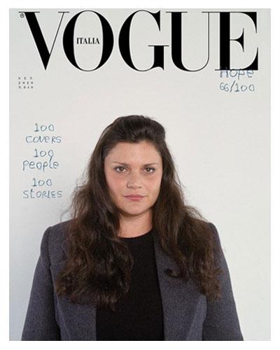 VOGUE ITALIA COVER FEATURING DIANA AL-HADID, SEPTEMBER 2020