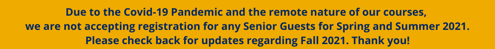 Senior Guest COVID Info