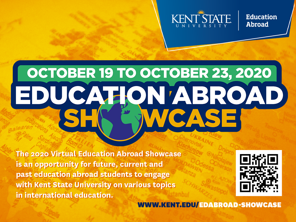 Education Abroad Showcase October 19-23, 2020