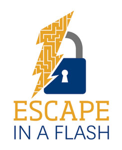 Reserve your visit to ESCAPE in a FLASH by calling 330-382-7567 or 330-382-7402