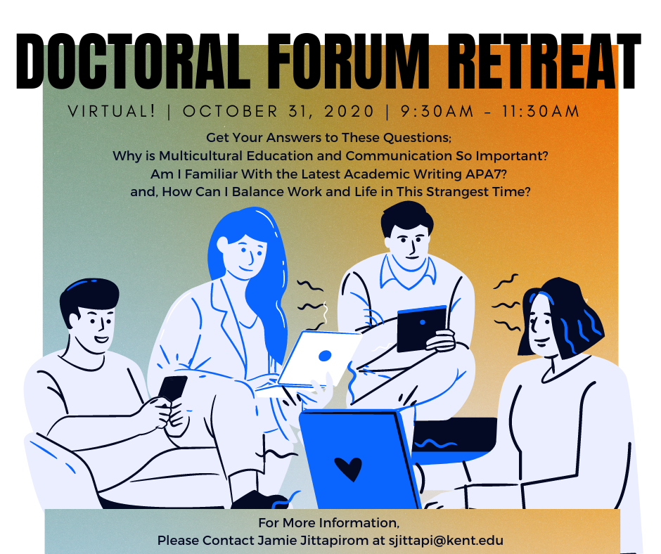 Picture of Fall20 Doctoral Forum Retreat Poster