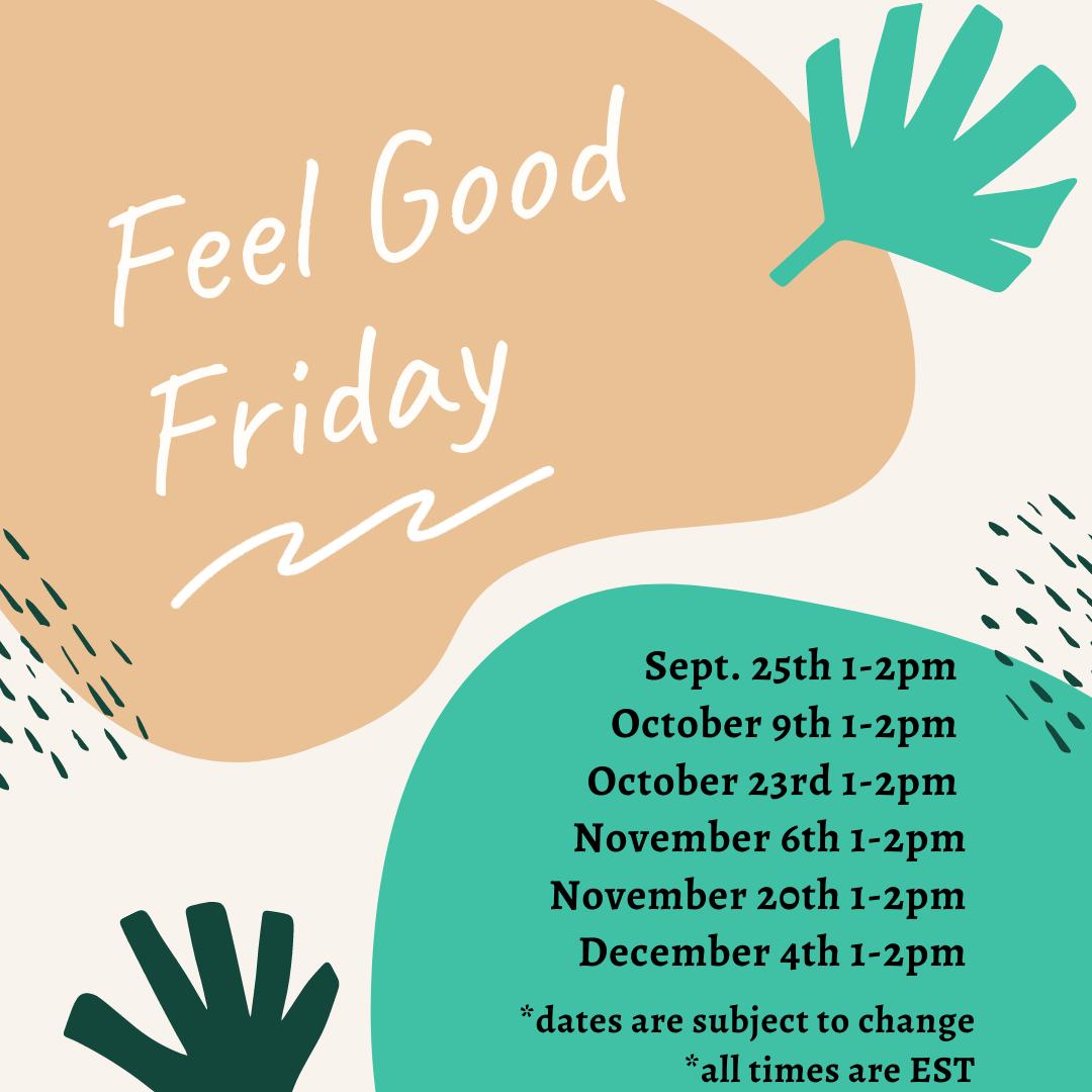 Feel Good Friday poster