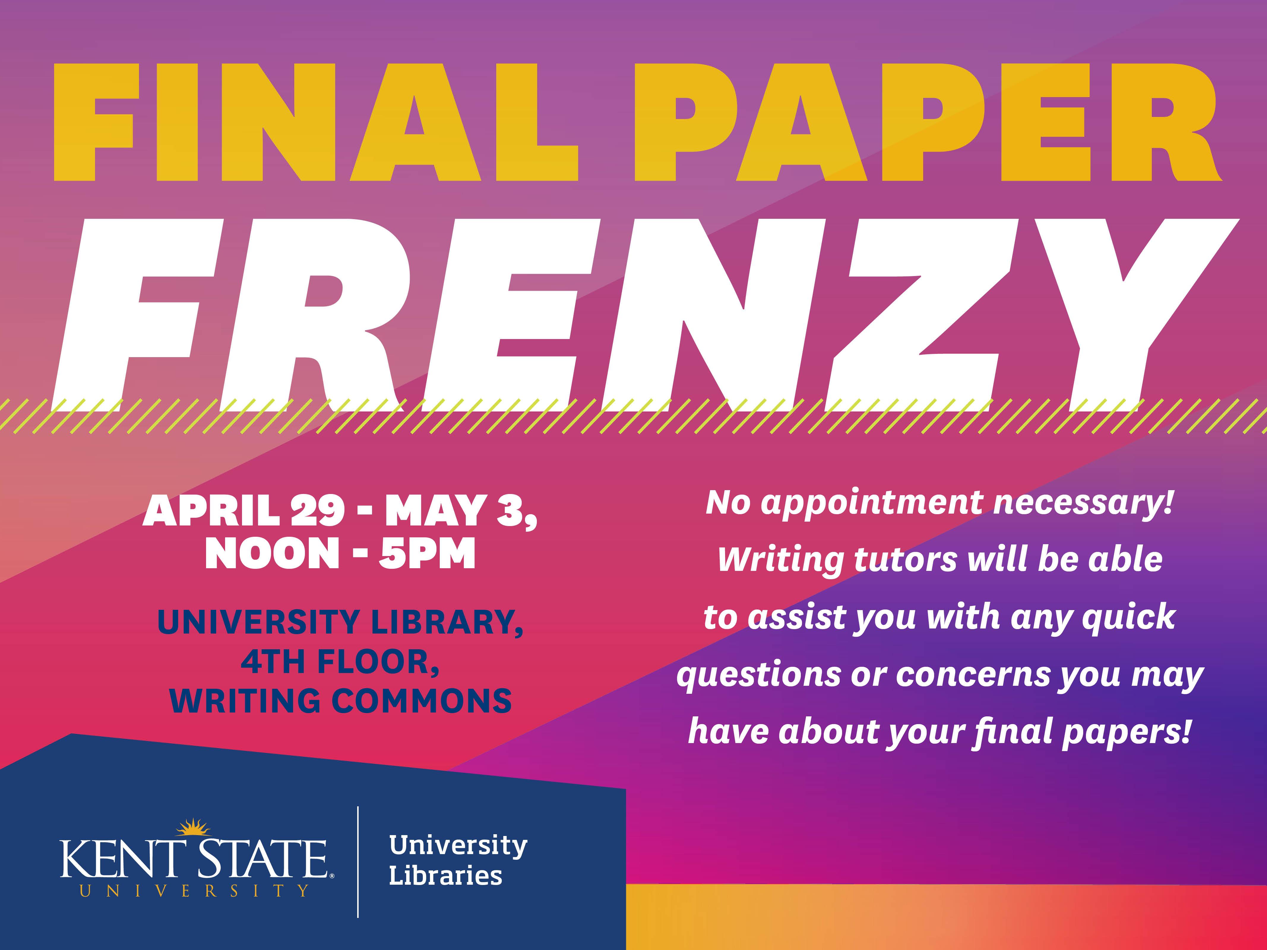 Final Paper Frenzy Flyer
