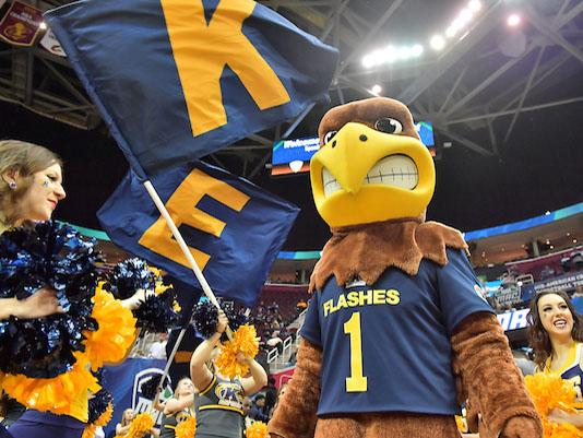 Flash, the Kent State University mascot