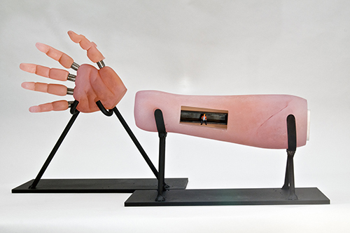 Glass Arm created by Joshua Mest - We Can Rebuild Him