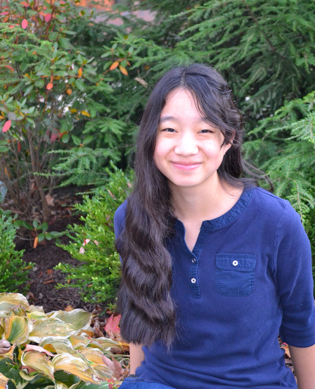 Honors College Commuter student Gracia Lu Head Shot