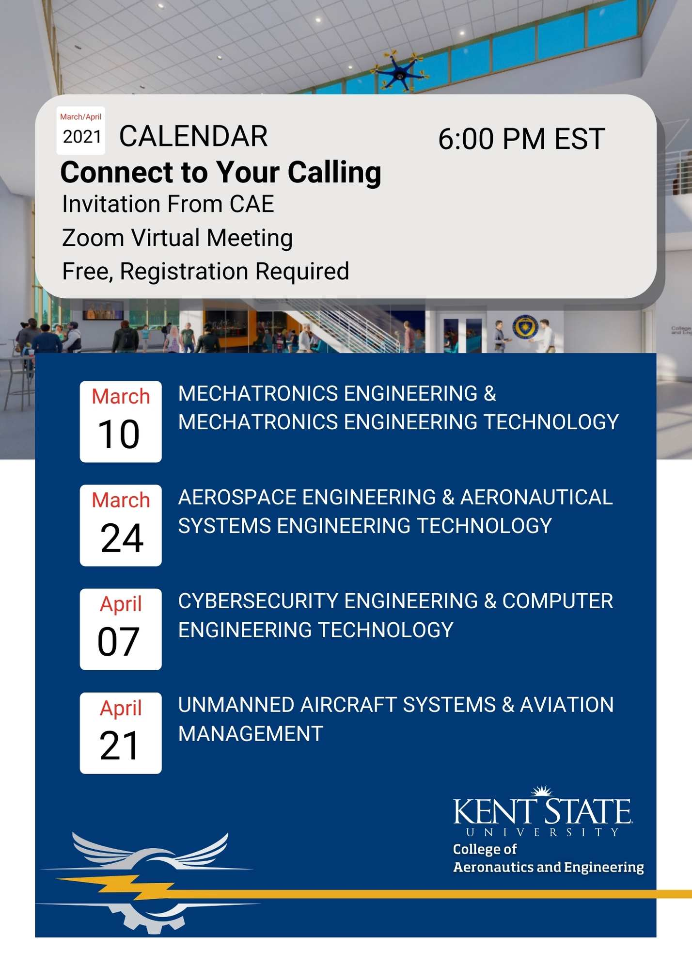 Connect to Your Calling Event Flyer