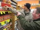Jared and Matt shopping