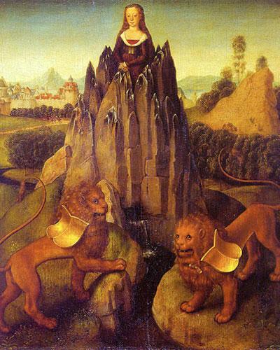 Hans-Memling allegory chastity