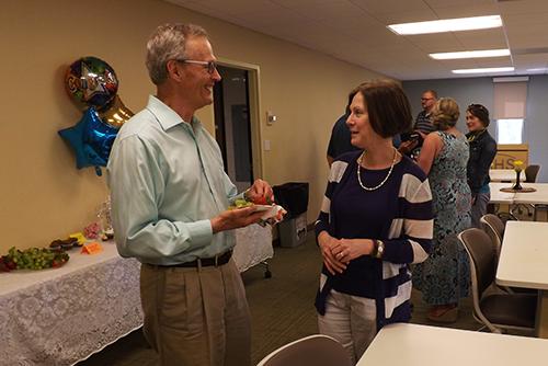 Dr. Henderson - retirement celebration, May 2018