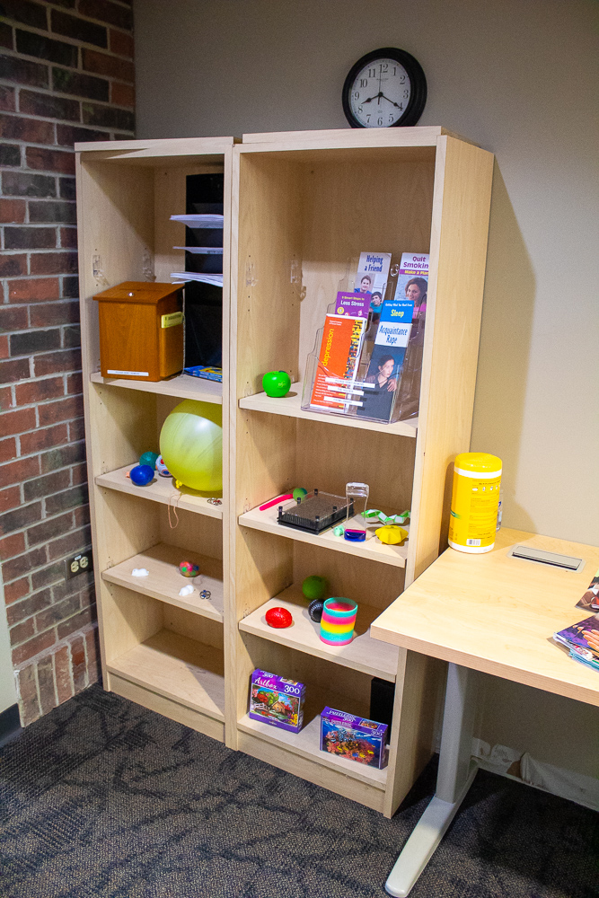 Shelf of Wellness Club grant items