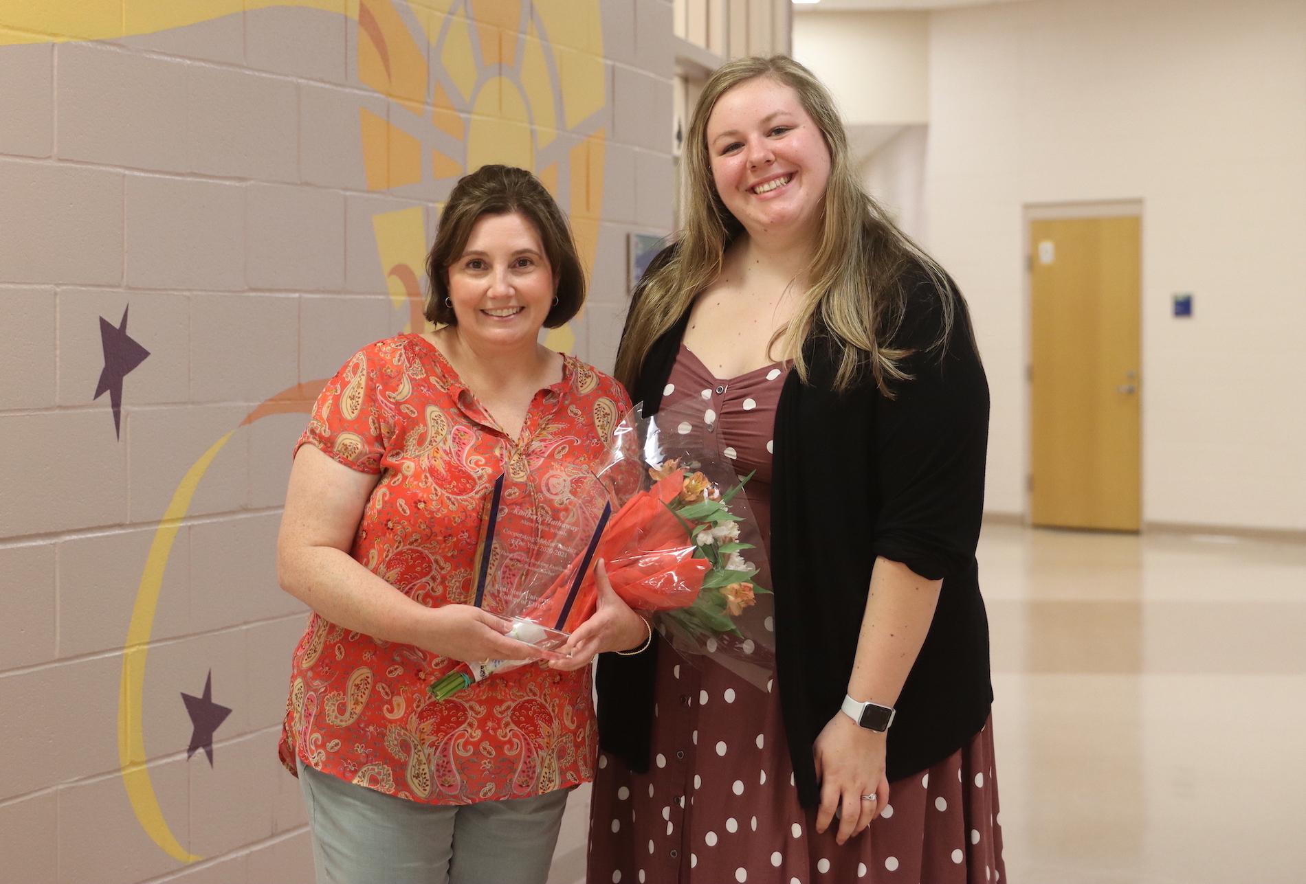 Danielle and Kimberly Holding Award