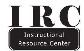 Instructional Resource Center Logo