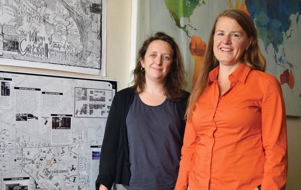 Jennifer Mapes, PhD, and Sara Koopman, PhD,
