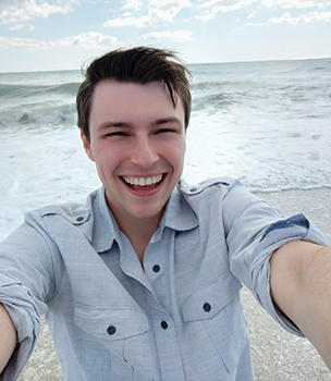 Josh Budd, ADED Social Studies student