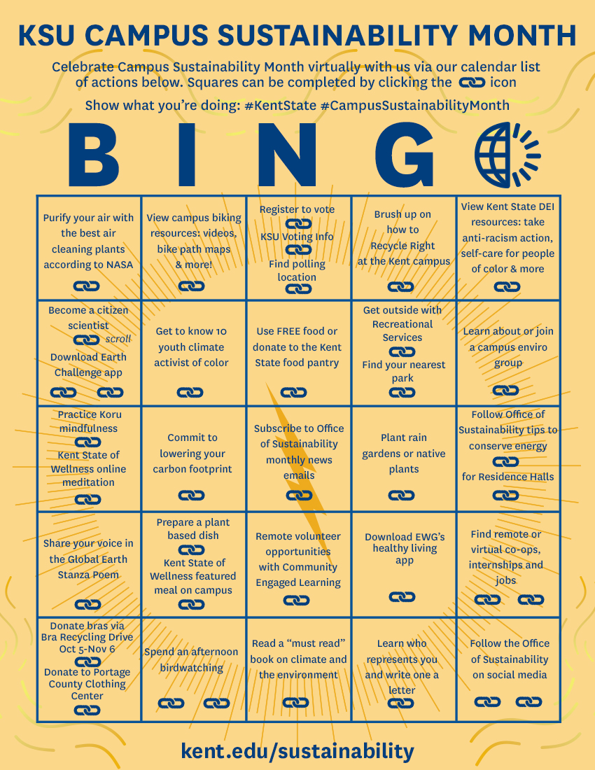 KSU CSM Bingo Card