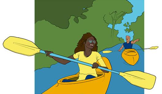 Kayak the Cuyahoga River