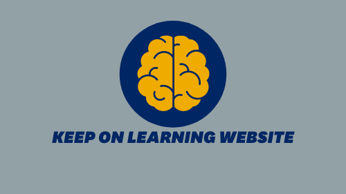 Keep on Learning Website
