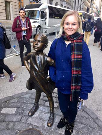 Kendra Snatchko in New York City