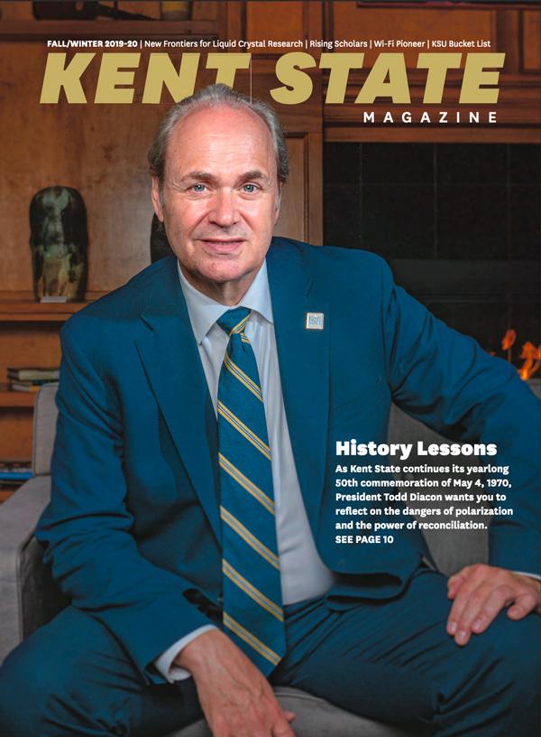 Kent State Magazine - Fall - Winter 2019-2020