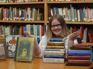 Lauren Christie in the Reinberger
