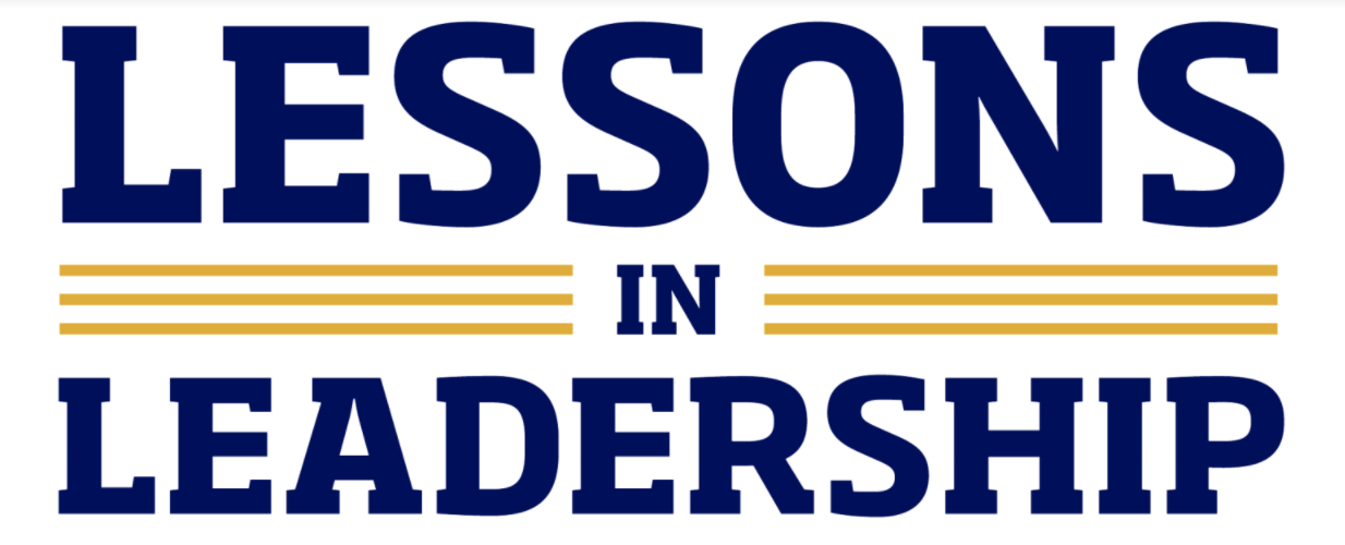 Lessons in Leadership Logo