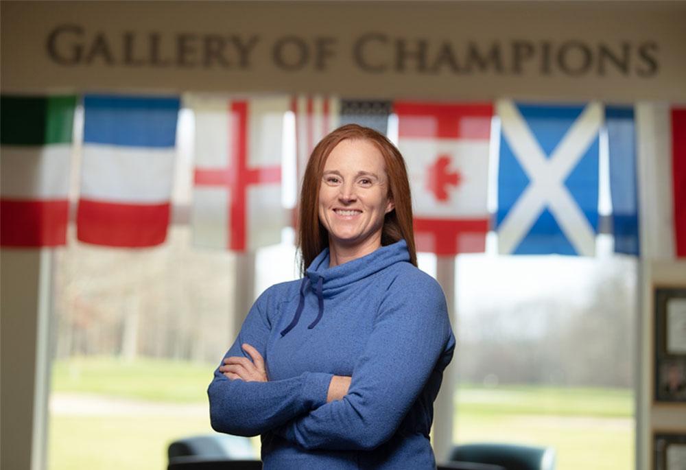 Lisa Strom Women's golf head coach