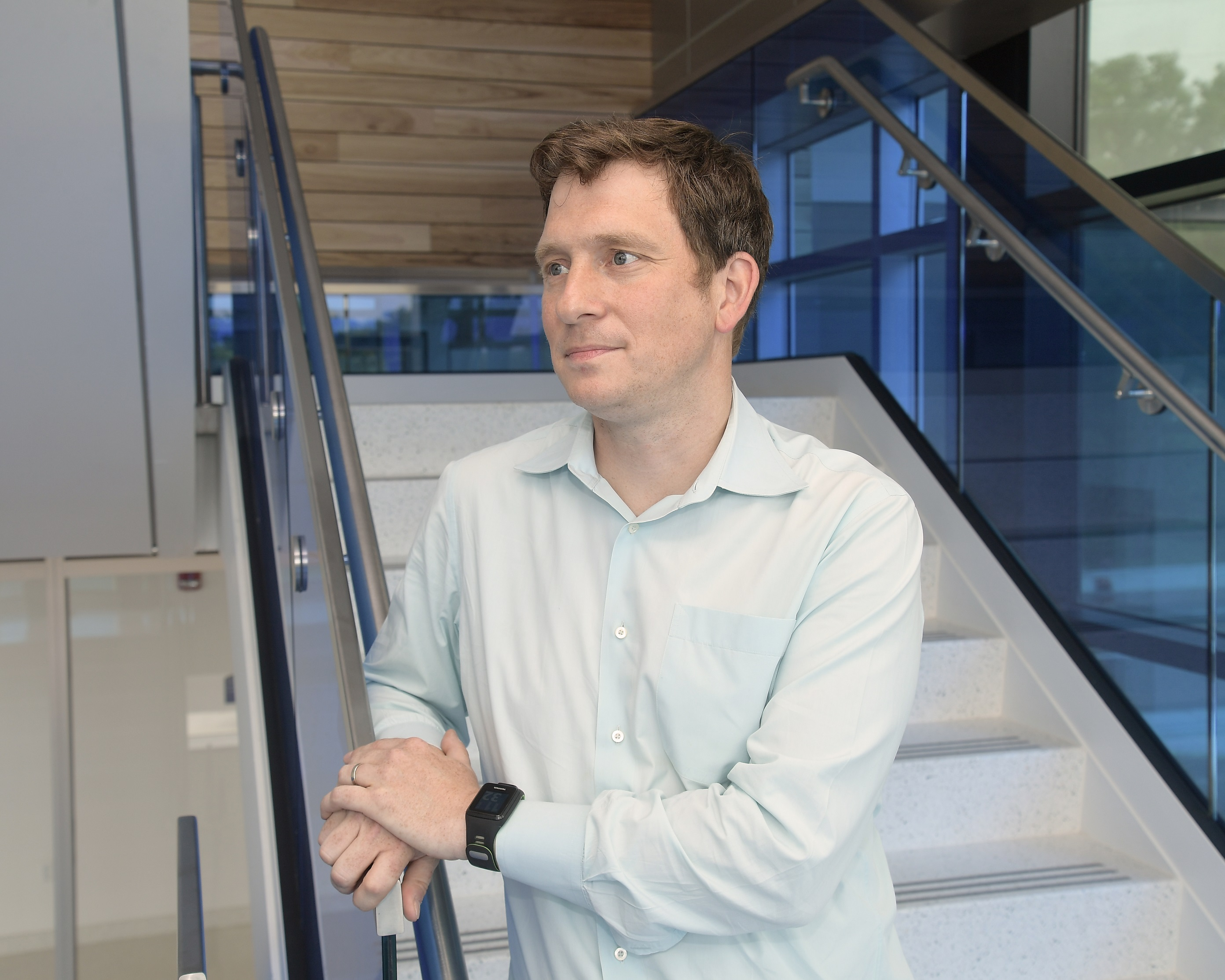 Björn Lüssem, Ph.D., assistant professor of physics at Kent State University, recently received a five-year, $500,000 Faculty Early Career Development (CAREER) Award from the National Science Foundation.