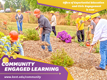 Kent State's Office of Experiential Education and Civic Engagement is now known as Community Engaged Learning.