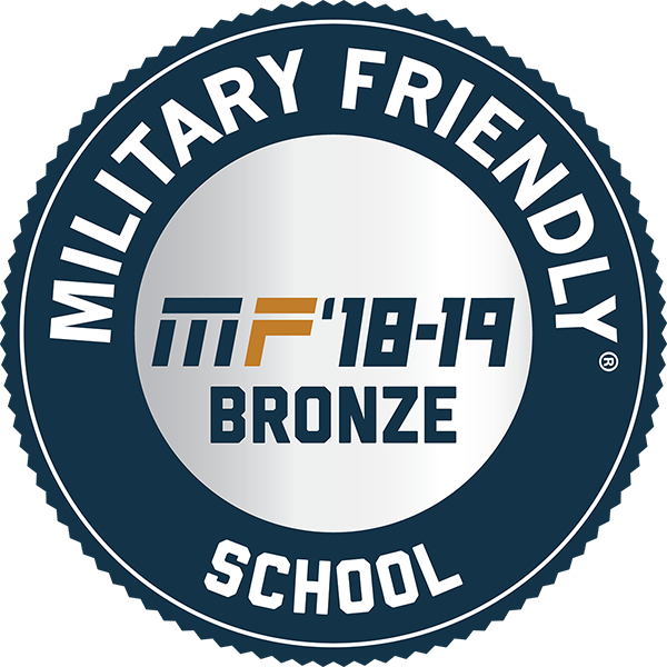 Military Friendly '18-19 Bronze School