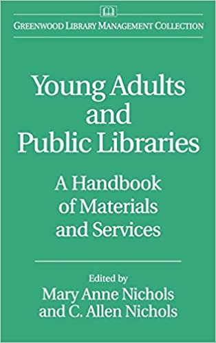 Cover of Young Adult and Public Libraries Handbook