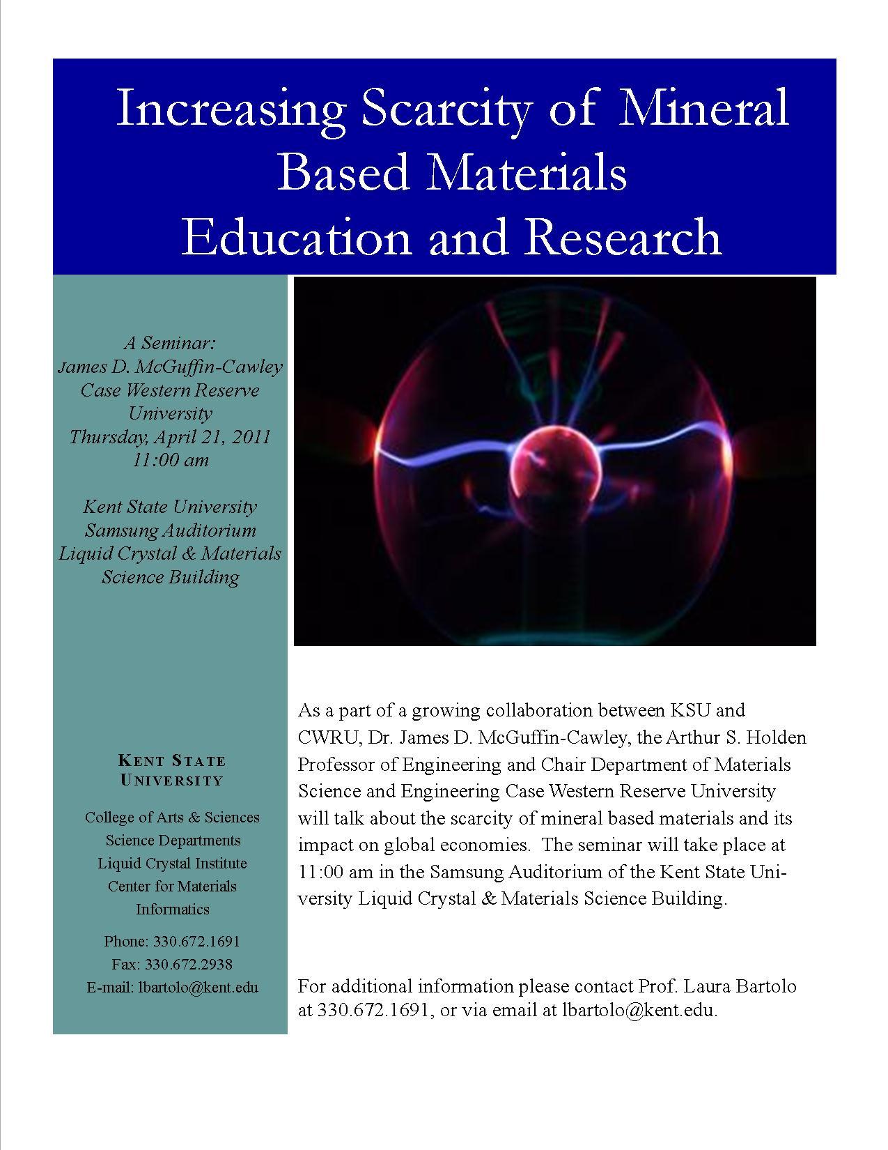 Materials Informatics flyer