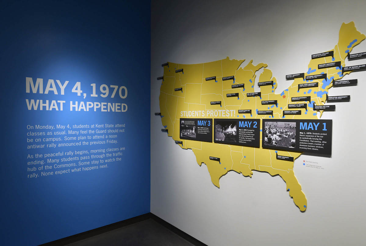 Kent State's May 4 Visitors Center