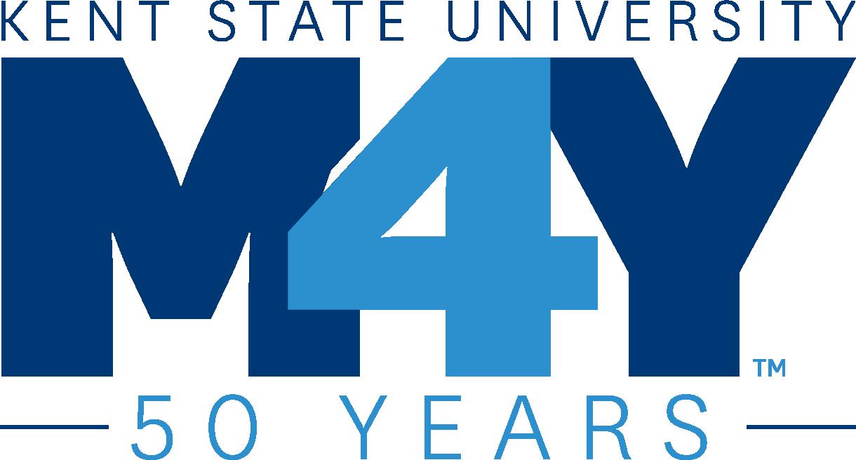 Kent State University May 4, 50 Years logo