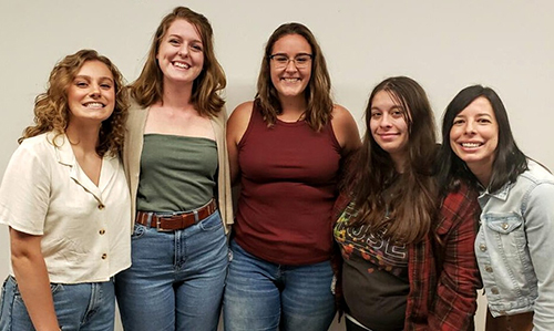 NAEA student chapter officers for 2019/20