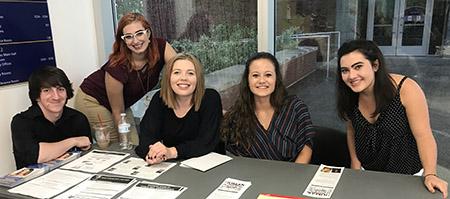 Kent State University at Stark students helped organize an anti-human trafficking symposium in September.