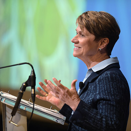 Kent State University President Beverly J. Warren challenged the university community to embrace transformation at the annual State of the University Address.