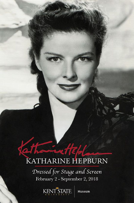 The Katharine Hepburn Dressed for Stage and Screen exhibit is returning to the Kent State University Museum.
