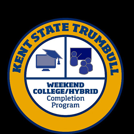 Kent State University at Trumbull's new Weekend College/Hybrid Completion Program offers anyone with prior college credits a unique opportunity to cost- and time-effectively complete their degree.