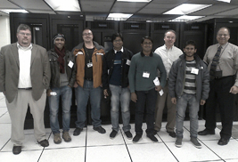 Kent State University hosted engineers from Bangladesh during a training session for the Bangladesh Research Education Network.