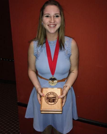 Kent State freshman Nina Schubert
