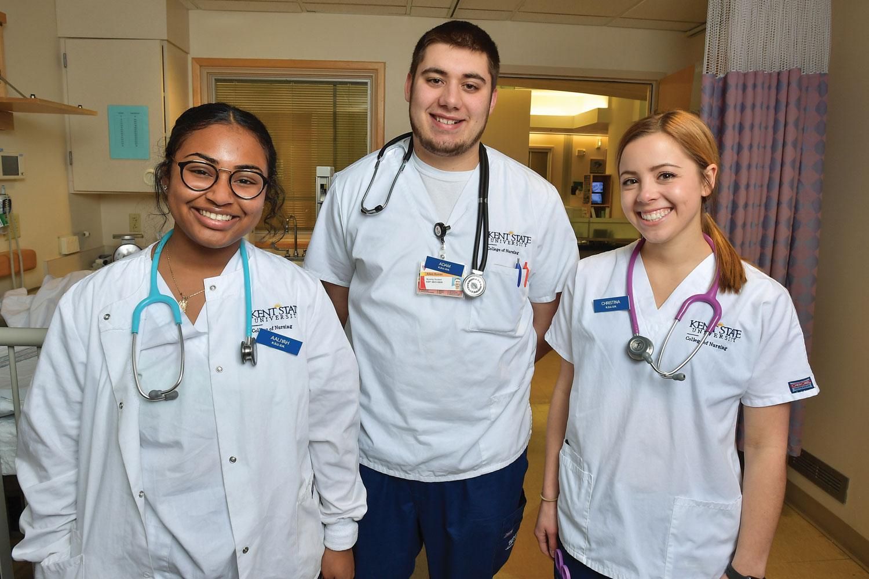 Kent State Nursing Students