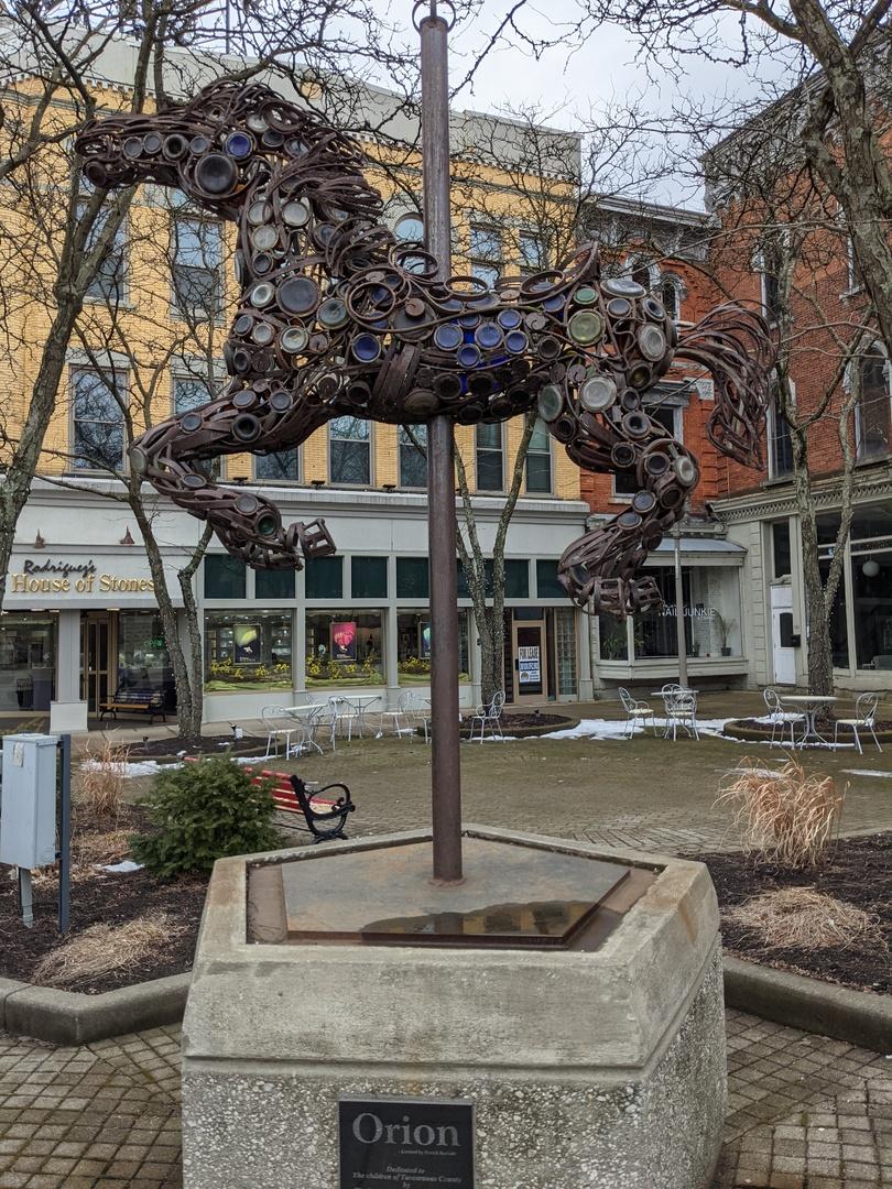 Orion Horse Sculpture