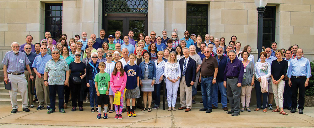 Kent State's Department of Psychological Sciences celebrated the 50th anniversary of its PhD program with a PhD alumni reunion