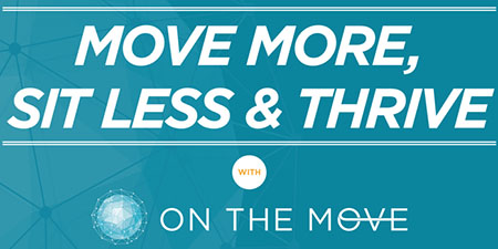The 12-week national On the Move Challenge allows Kent State employees to adopt a more healthy lifestyle by moving more and sitting less.