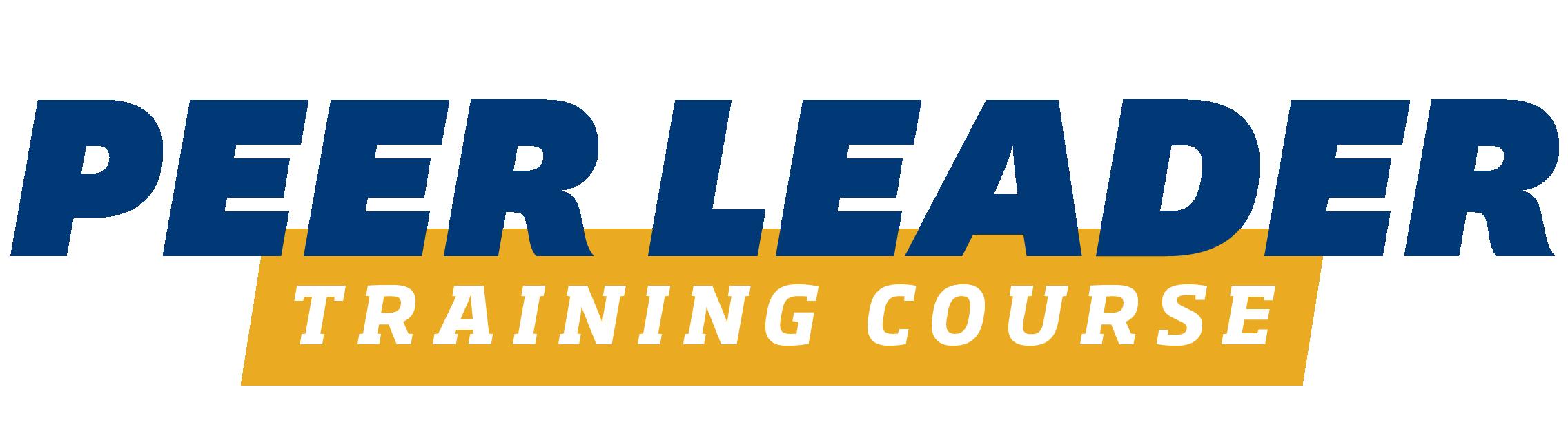 Peer Leader Training Course