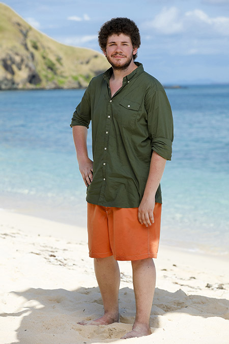 "Kent State alumnus Jacob Derwin competes on the CBS show ""Survivor: Ghost Island,"" which premieres Feb. 28. (Photo credit: Robert Voets/CBS)"