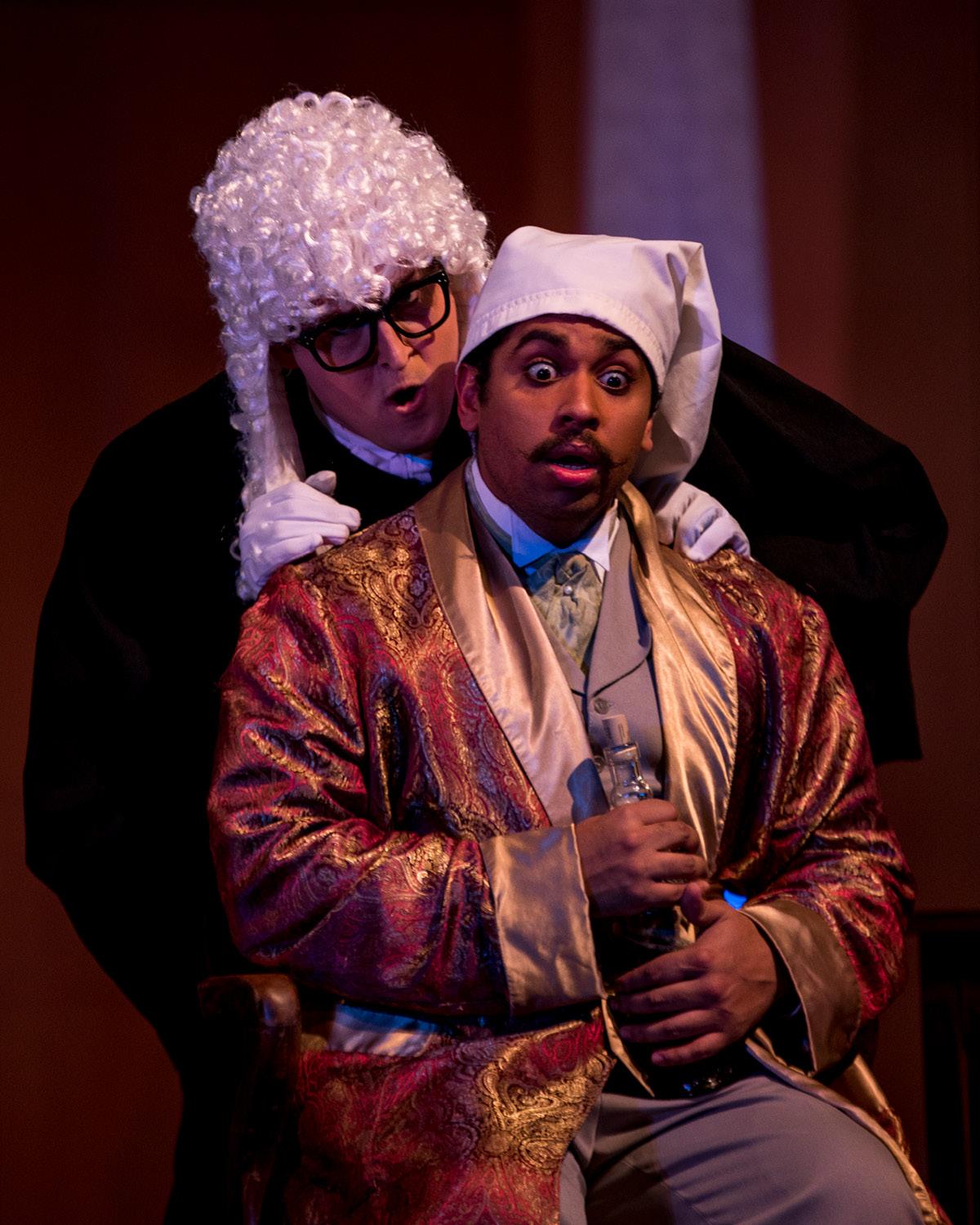 """Students performing in opera """"Die Fledermaus"""""""