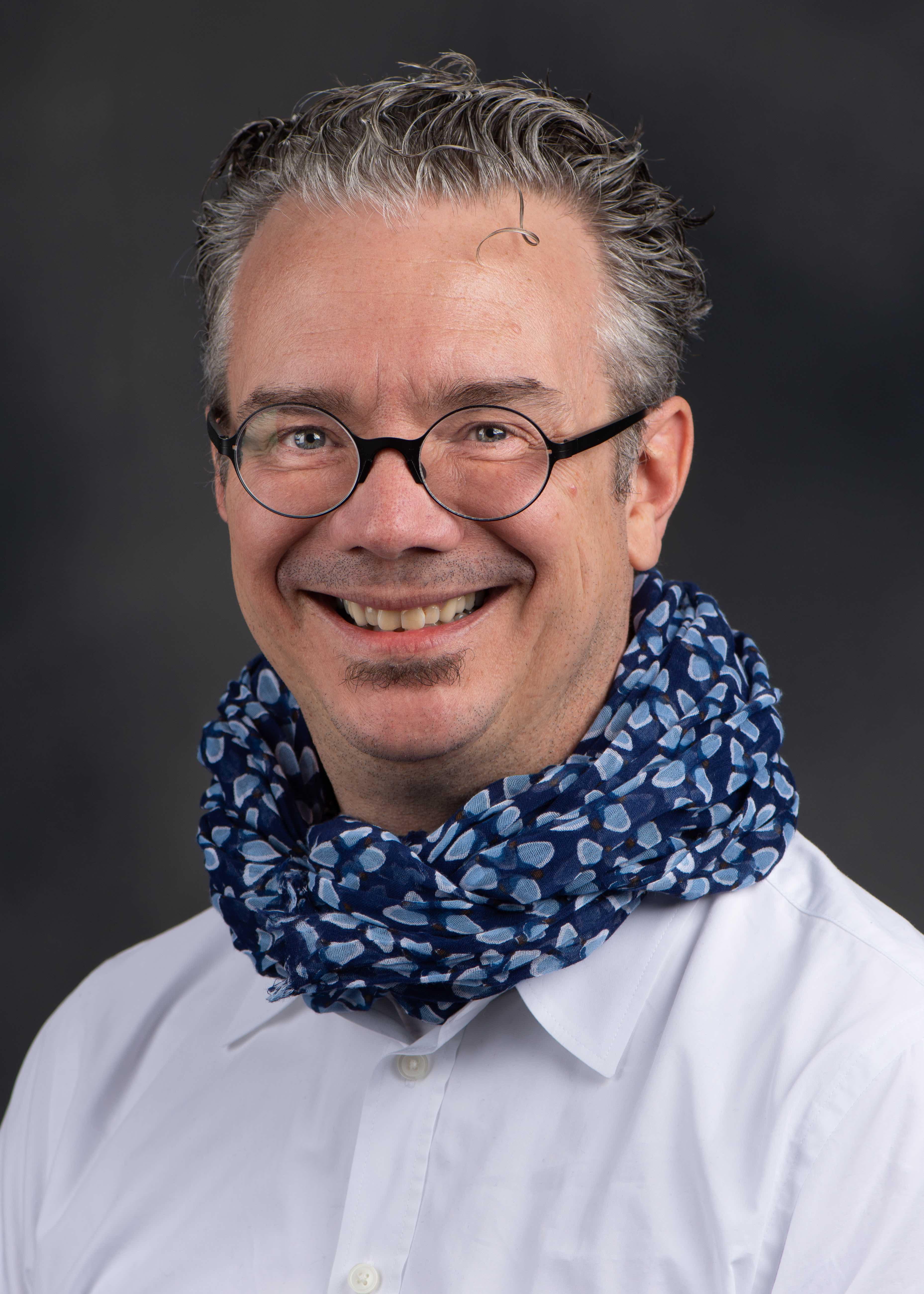 William Perrine, 2020 Distinguished Honors Faculty Award recipient